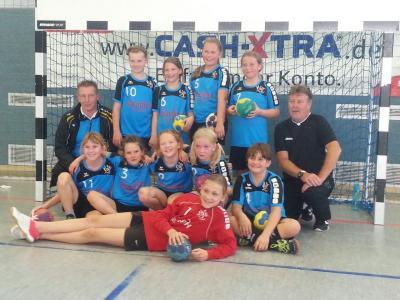 Foto zur Meldung: Gelungener Saisonauftakt für die II. E-Jugend des HSV Falkensee