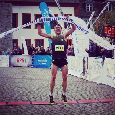 Foto zur Meldung: Moritz auf der Heide dominiert Half-Trial in Heidelberg
