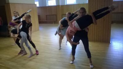 Foto zur Meldung: Tanzworkshop für Ludwigsluster und Parchimer Mädchen