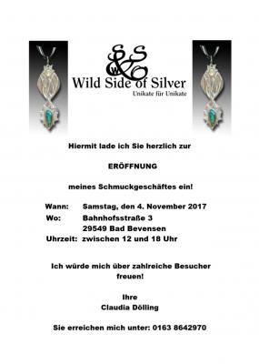 Vorschaubild zur Meldung: Geschäftseröffnung Wild Side of Silver