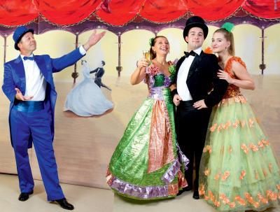 Vorschaubild zur Meldung: Glanzlichter der Operette zu Gast im Schützenhaus