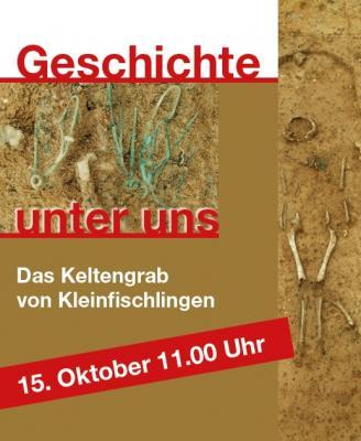 Foto zur Meldung: Keltengrab-Ausstellung