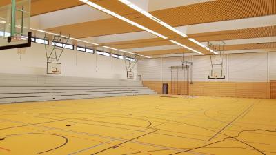 Vorschaubild zur Meldung: Renovierung der Sporthalle im Ortsteil Liedolsheim