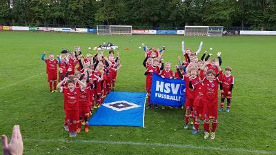 Foto zur Meldung: HSV Fussballschule  - Feiert 14. Geburtstag mit einem Ständchen aus Walsrode