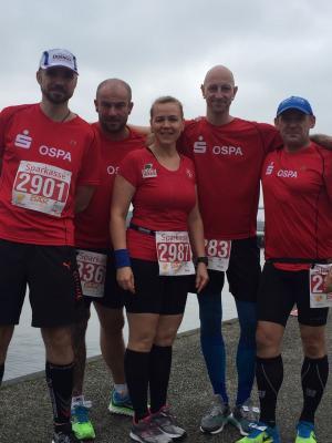 Foto zu Meldung: 10. Sparkassen Rügenbrückenmarathon -Werbung für den Laufsport!