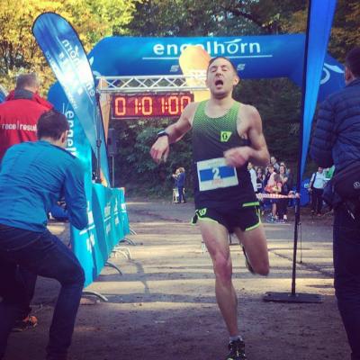 Foto zur Meldung: Moritz auf der Heide gewinnt King of the Hill Race in Schriesheim