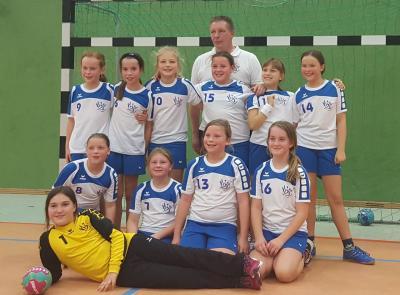 Foto zur Meldung: E-Jugend des HSV Falkensee weiterhin auf Erfolgskurs