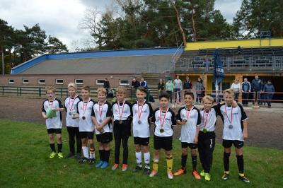 Foto zur Meldung: Finale Jugend trainiert Fußball Wk IV