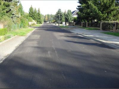 Chransdorfer Straße nach der Instandsetzung