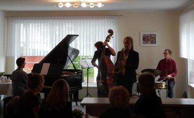 Foto zur Meldung: Rückblick: Jazz und Dreidimensionales im September
