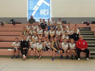 Foto zur Meldung: INTERSPORT Handballcamp
