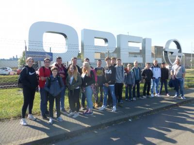 Vorschaubild zur Meldung: Betriebsbesichtigung bei Opel September 2017