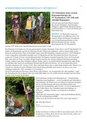 Vorschaubild zur Meldung: TSV Selk, Bericht über 2. Bogensportturnier