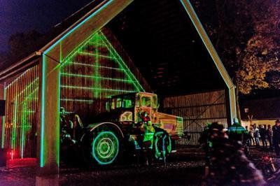 Foto zur Meldung: Geheimnisvolle Lichterwelt in Wandlitz am 28. Oktober