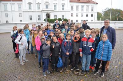 Foto zu Meldung: Französische Schüler zu Besuch in Oranienburg