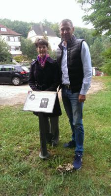 Monika von der Lippe besucht Rüdersdorf