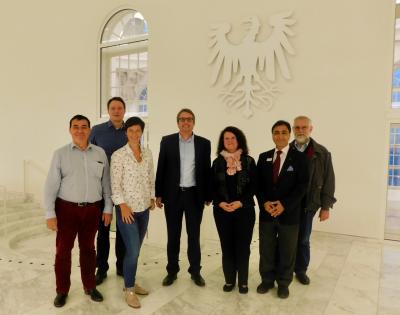 Vorschaubild zur Meldung: Besuch des Landtages in Potsdam