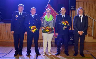 Foto zur Meldung: Auszeichnungsveranstaltung der Freiwilligen Feuerwehren der Stadt Calau