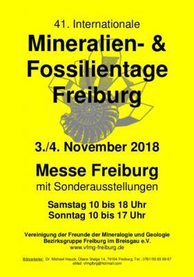 Foto zur Meldung: Bergmannsverein nimmt an den 40. Mineralien- und Fossilientage teil