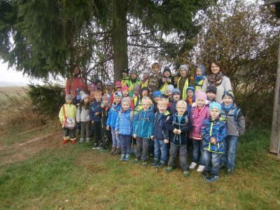 Foto zur Meldung: Wandertag mit dem Kindergarten