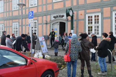 Foto zur Meldung: Feuer&Flamme für die Museen und Lesung zum Tag der Bibliotheken am Sonnabend