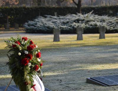 Vorschaubild zur Meldung: Volkstrauertag: Wittenberger gedenken der Opfer von Krieg und Gewalt