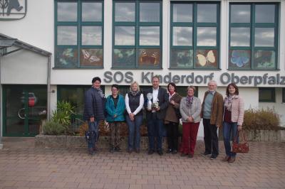Foto zur Meldung: Röslauer informieren sich über das SOS-Kinderdorf Oberpfalz in Immenreuth