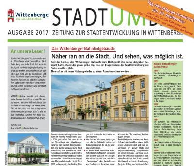 Vorschaubild zur Meldung: Neues in der Stadtumbauzeitung: wie und wo sich das Antlitz Wittenberges verändert