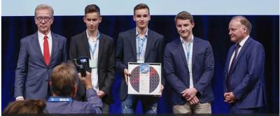 Foto zur Meldung: Justus Kaufmann gewinnt Silber