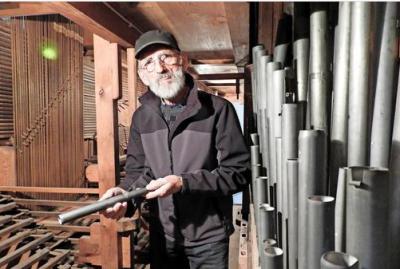 """Foto zur Meldung: MAZ: """"Restaurierung der Niemegker Orgel beginnt"""""""