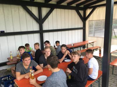Foto zur Meldung: U 15: Beachtlicher Start in die Bezirksliga Oberfranken