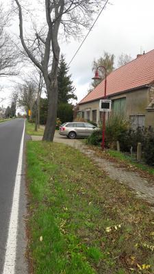 Geschwindigkeitsmessanlage in Welsickendorf 27.10.2017