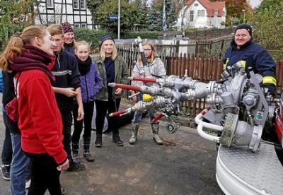 Foto zur Meldung: Hunderte Jugendliche beim Kreisgeländespiel in Bad Tennstedt