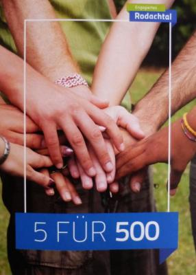 Foto zur Meldung: Aktion 5 FÜR 500