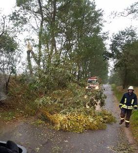 Foto zu Meldung: Dank an alle Feuerwehrkameraden und Bürger