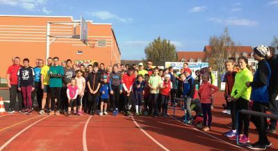Foto zur Meldung: Erster Lauf der neuen Paarlaufserie 2017/18