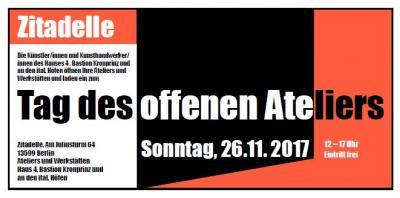 Wolfgang Sterrer lädt am 26. November zum Tag des offenen Ateliers