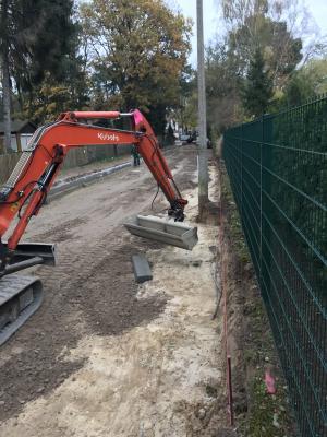 Foto zur Meldung: Aktuelle Bilder vom Ausbau der Heinrich - Heine - Straße Bilder werden unregelmäßig ergänzt...