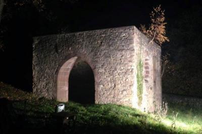 Vorschaubild zur Meldung: St. Martinskapelle wird beleuchtet