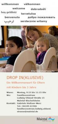 Flyer zum Angebot in verschiedenen Sprachen. Quelle: Karl Kübel Stiftung für Kind und Familie