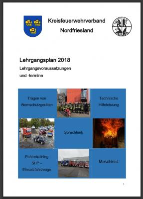 Lehrgangsflyer 2018