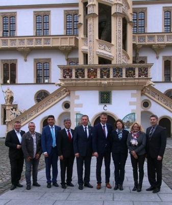 """Foto zur Meldung: Neun Landräte, drei Bundesländer, eine Erklärung – Projekt """"Milau"""""""