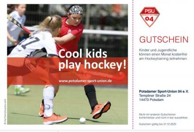 Foto zu Meldung: Cool kids play hockey!
