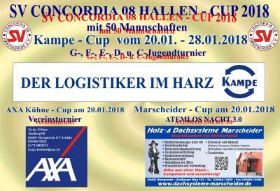 Foto zur Meldung: SV Concordia08 Hallencup 2018
