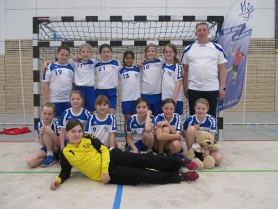 Foto zur Meldung: E- Jugendteams des HSV Falkensee weiter auf Erfolgsspur