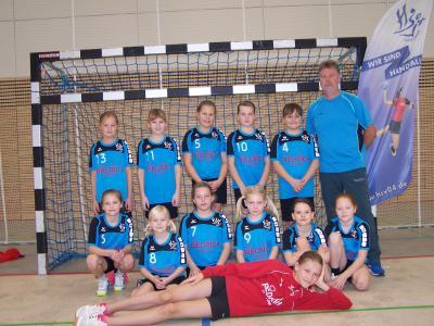 Foto zur Meldung: E-Jugendteams des HSV Falkensee weiter auf der Erfolgsspur / E2