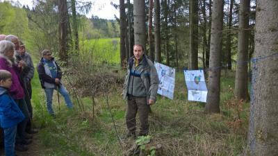 Foto zur Meldung: Pfründewaldbegehung