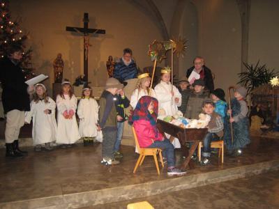 Foto zur Meldung: Das Kind in der Krippe, unser Heiland und Erlöser, Jesus Christus