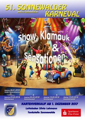 Vorschaubild zur Meldung: 51. Sonnewalder Reiterkarneval