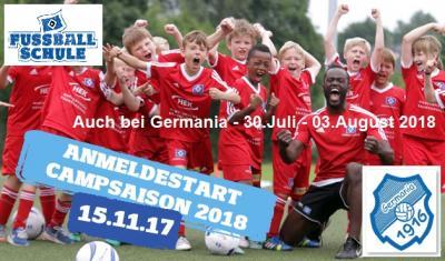 Foto zur Meldung: HSV Fussballschule - Anmeldestart zur Campsaison 2018